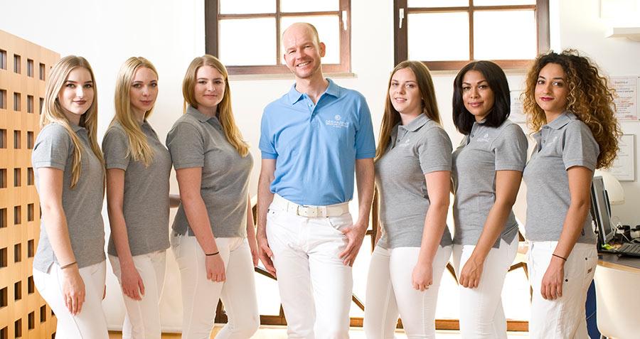 Hautarztpraxis in München - unser Team