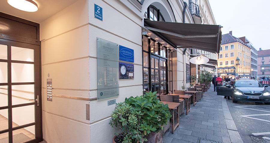 Hautarztpraxis in München Zentrum