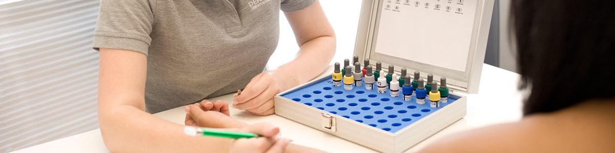Allergietest in der Hautarztpraxis in München