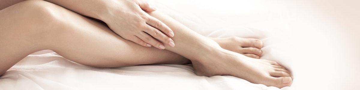 Laserbehandlungen an den Beinen