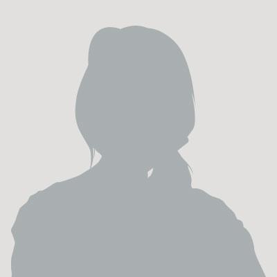 Silhouette einer weiblichen Mitarbeiterin