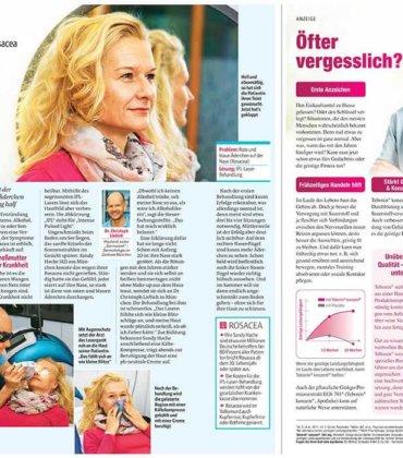 Artikel in Die Frau