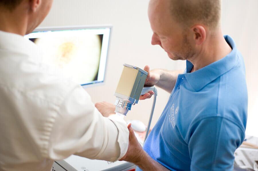 Keloide Behandlung in München